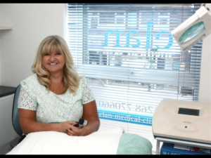 Sue Ibrahim, skin expert at Elan Medical Skin Clinic in Essex