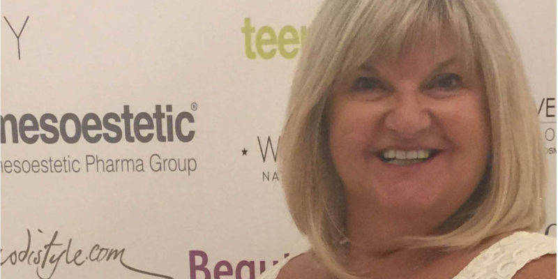 Sue Ibrahim from Elan Medical Skin Clinics in Essex and central London named Runner-up Nurse of the Year 2016 in the Safety in Beauty Awards